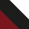 Burgundy/Black/White