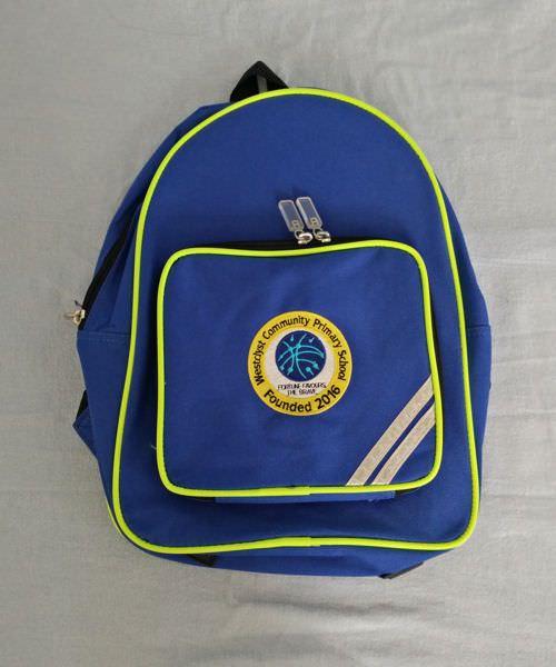 Westclyst Primary School Backpack 37496a4db96b2