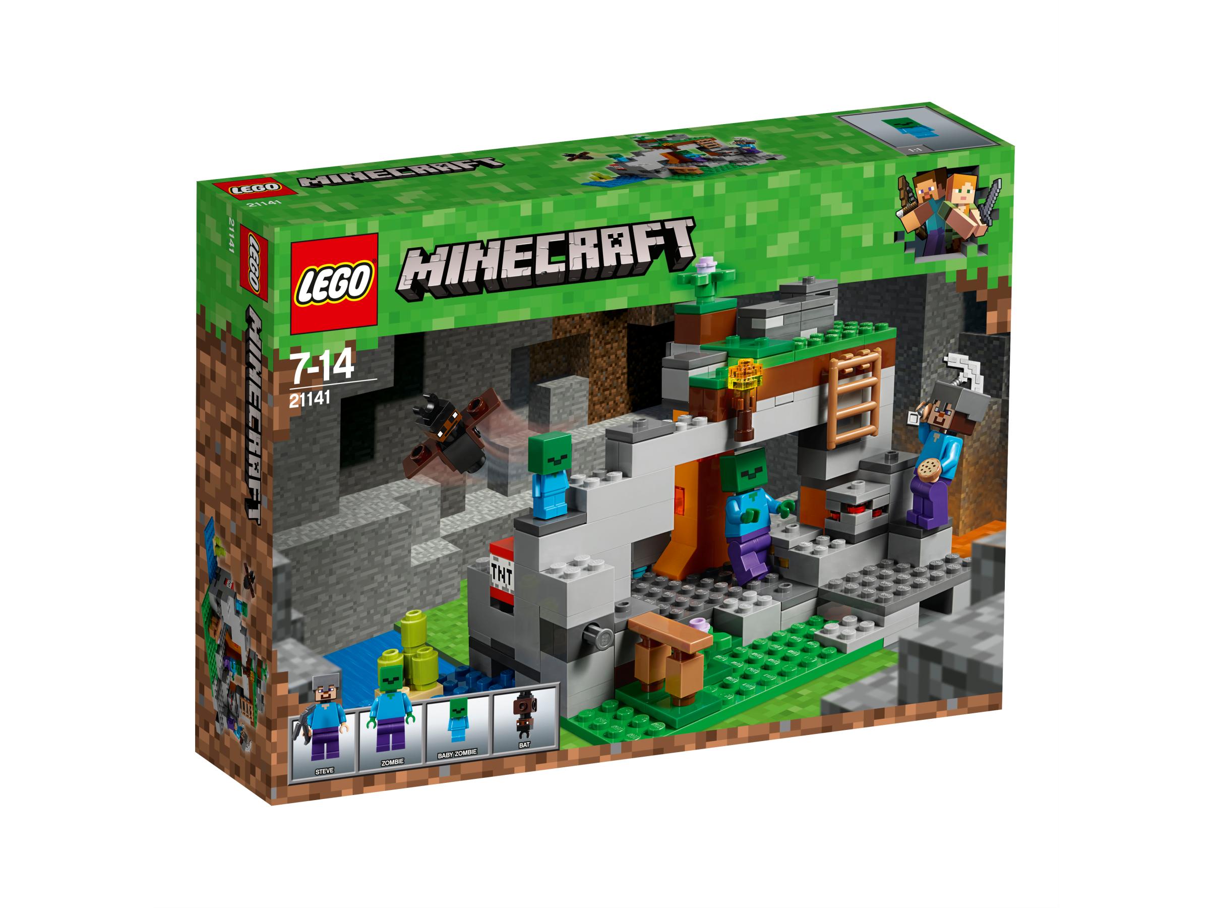 Lego The Zombie Cave 21141 Thomas Moore