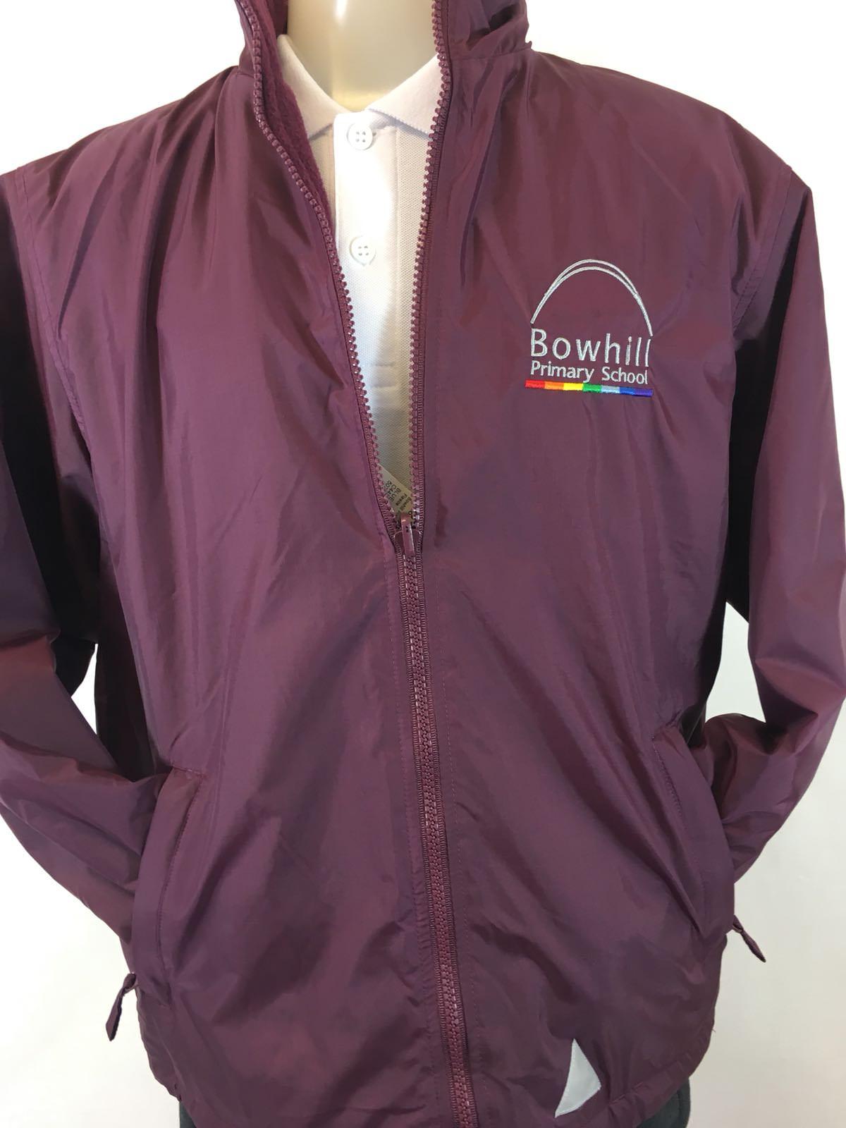 10674284f Bowhill Primary Reversible School Fleece