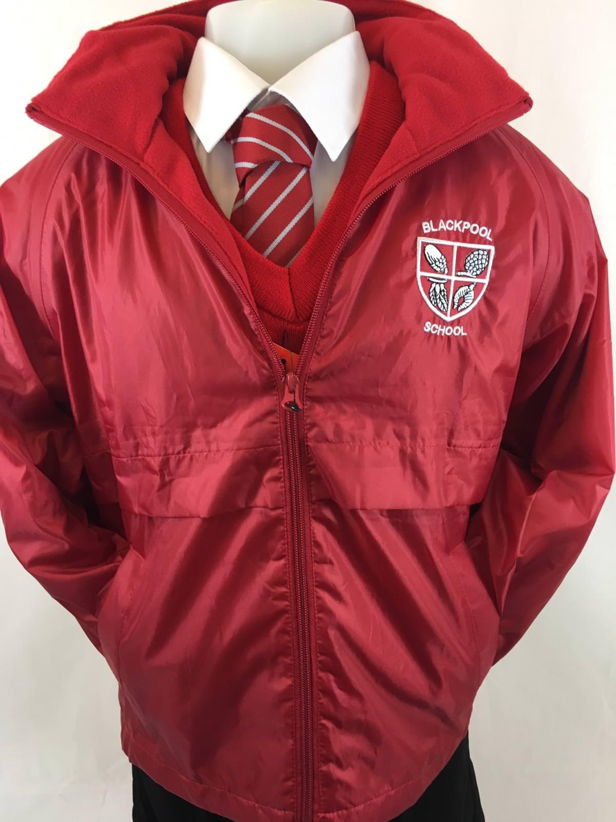 dcb2b2b9d Blackpool Primary School Lightweight Jacket