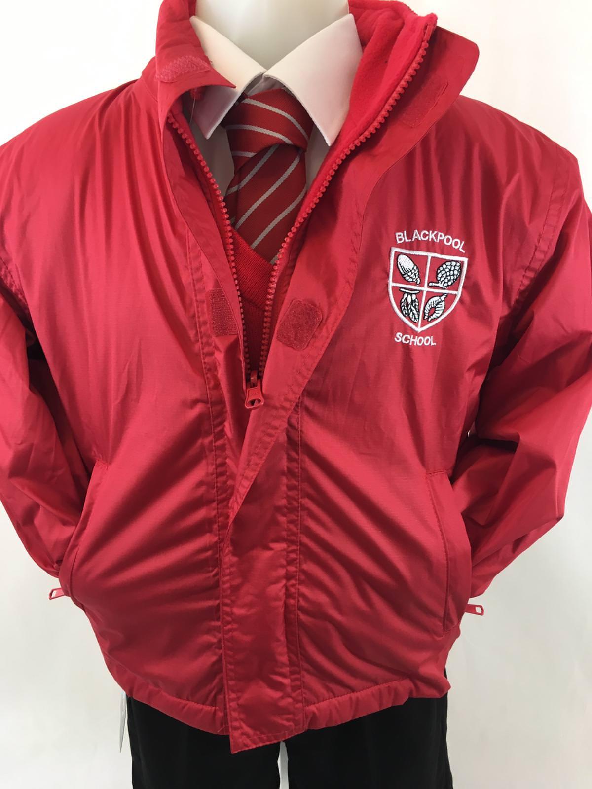 5a3168619 Blackpool Primary School Reversible Coat