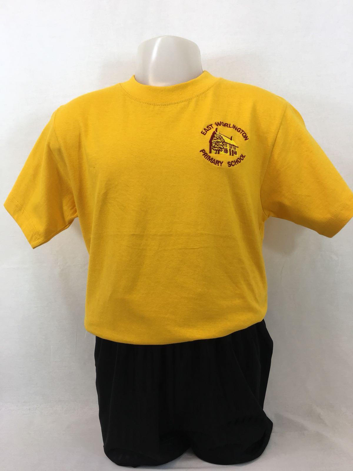 East Worlington Primary PE T.Shirt