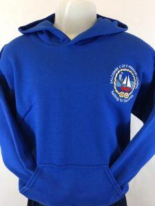 Salcombe Primary School PE Hooded Sweatshirt