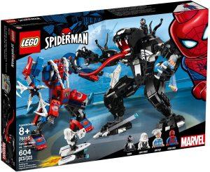 LEGO SPIDER MECH VS. VENOM - 76115