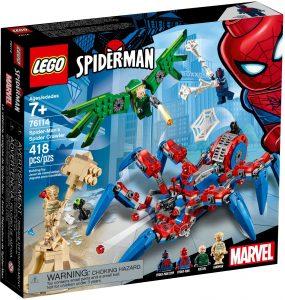 LEGO SPIDERMAN'S SPIDER CRAWLER - 76114