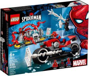 LEGO SPIDERMAN BIKE RESCUE - 76113