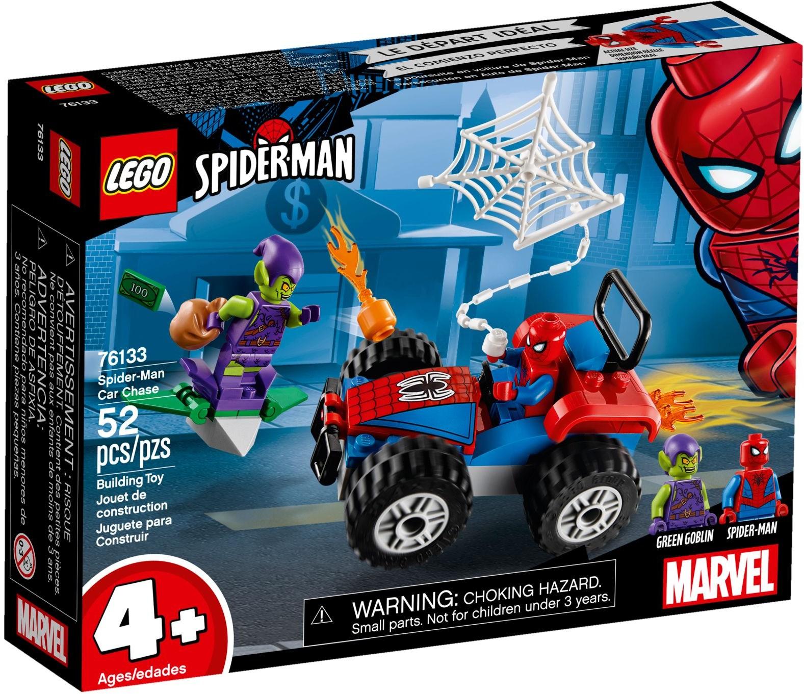 LEGO SPIDERMAN CAR CHASE - 76133
