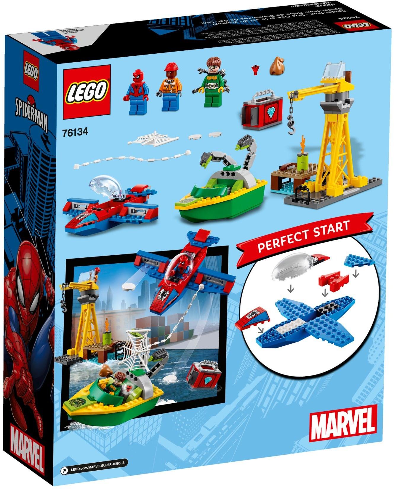 LEGO SPIDERMAN DOC OCK DIAMOND HEIST - 76134