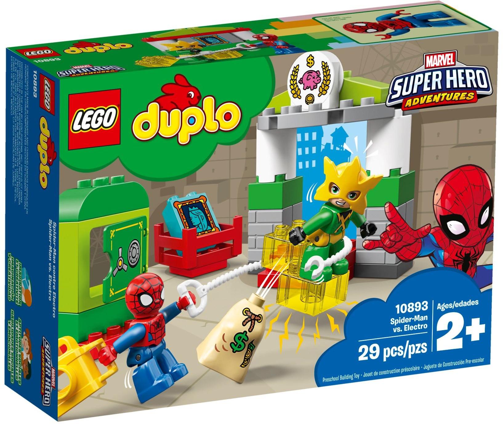 LEGO SPIDERMAN VS. ELECTRO - 10893