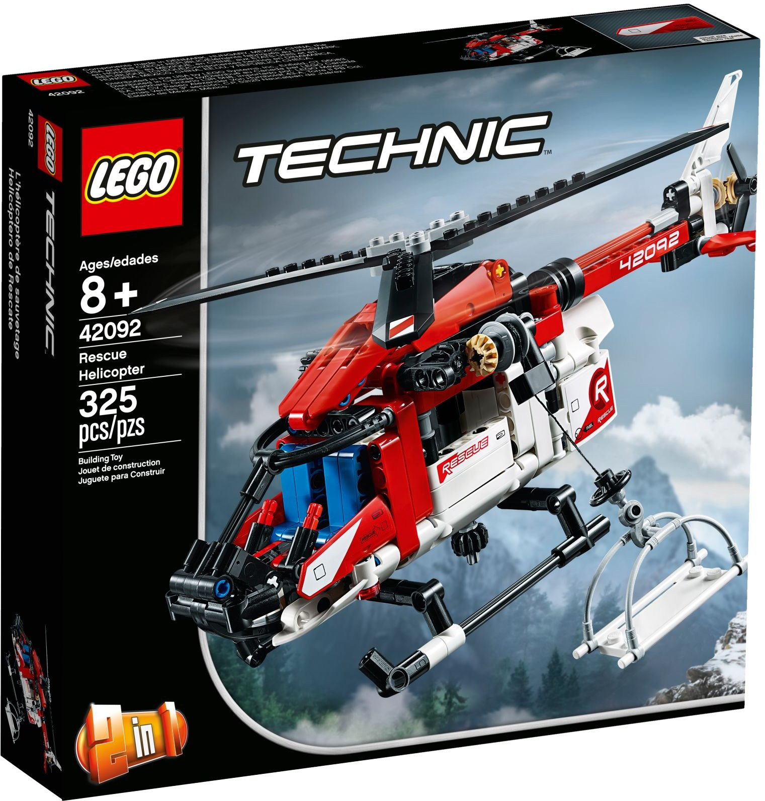 LEGO RESCUE HELICOPTER - 42092