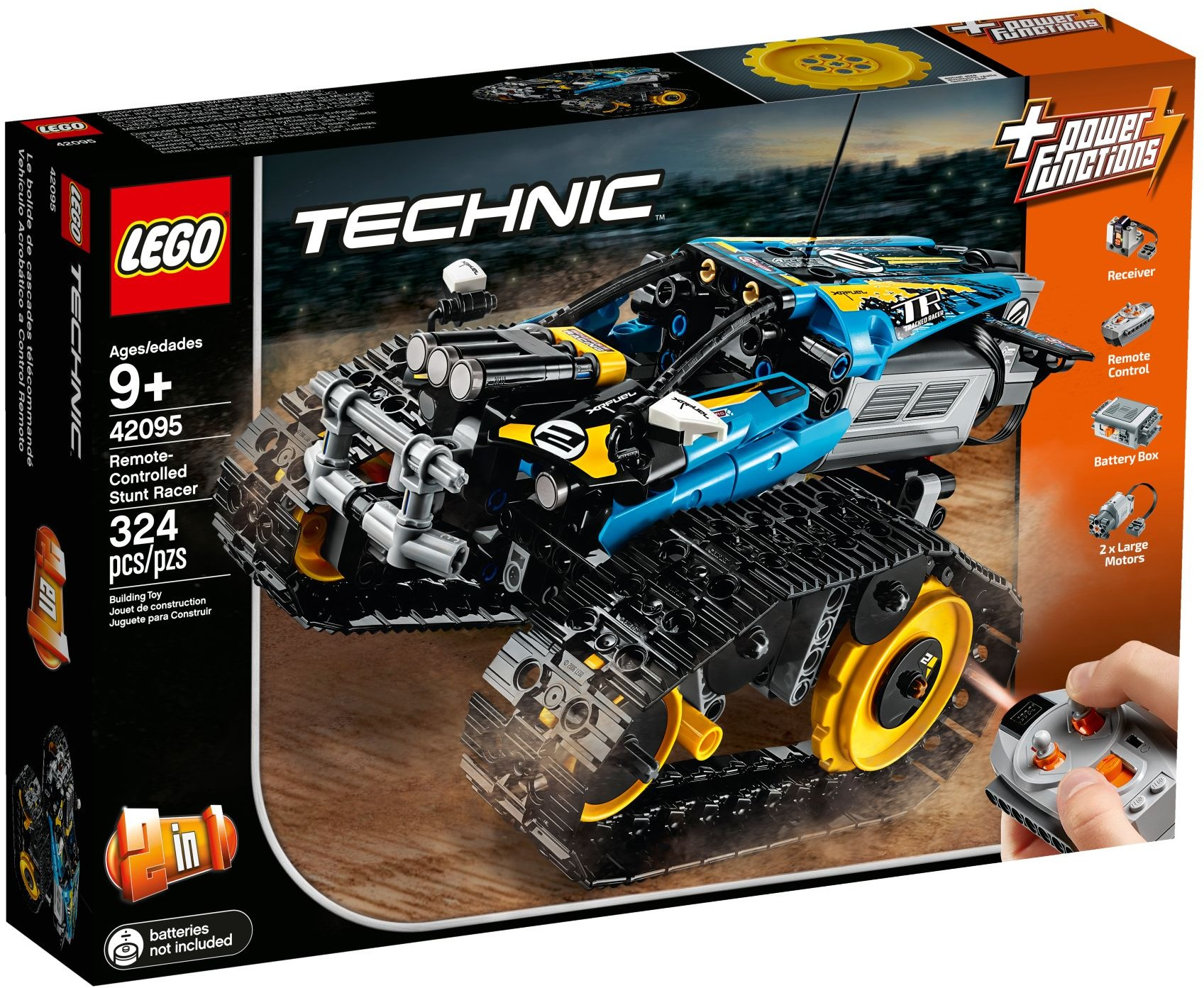 LEGO REMOTE CONTROLLED STUNT RACER - 42095