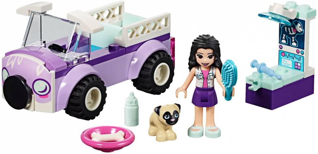 LEGO EMMA'S MOBILE VET CLINIC - 41360