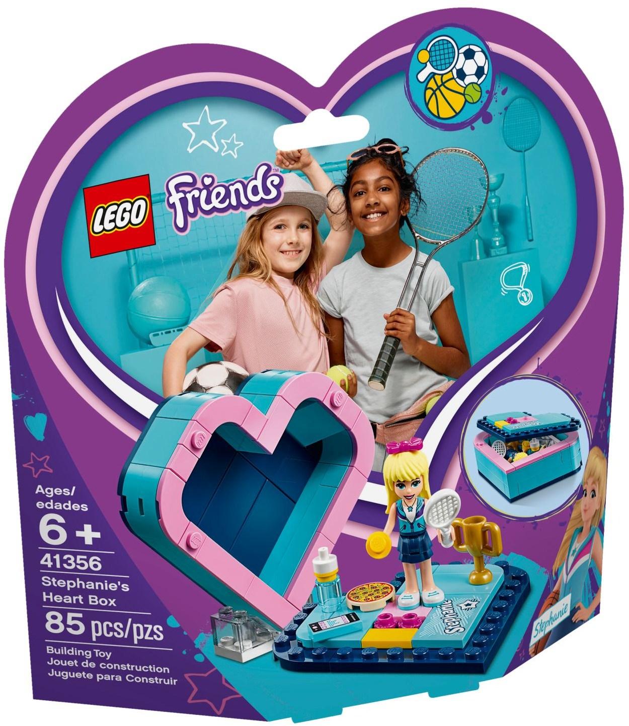 LEGO STEPHANIE'S HEART BOX - 41356