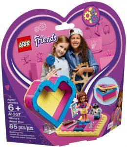 LEGO OLIVIA'S HEART BOX - 41357