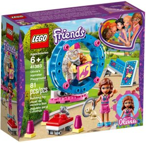 LEGO OLIVIA'S HAMSTER PLAYGROUND - 41383