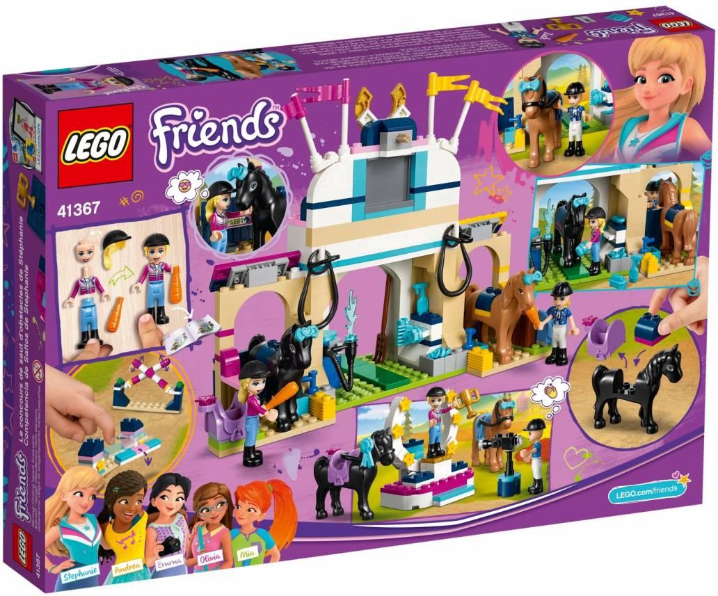 LEGO STEPHANIE'S HORSE JUMPING - 41367