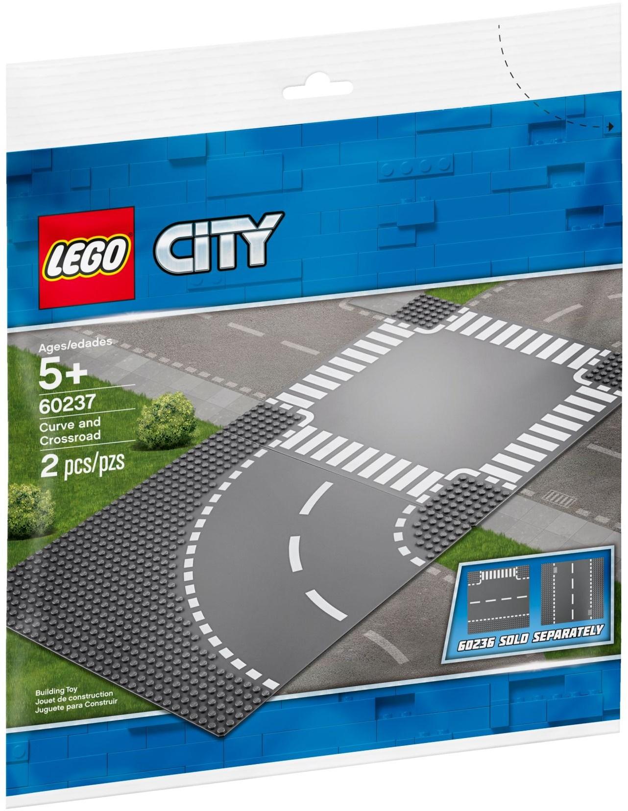 LEGO CURVE AND CROSSROAD - 60237