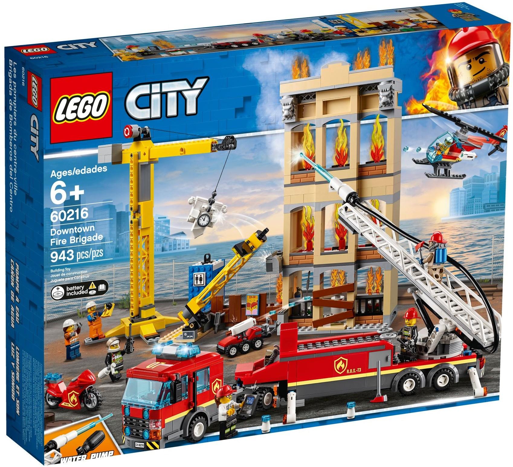 LEGO DOWNTOWN FIRE BRIGADE - 60216