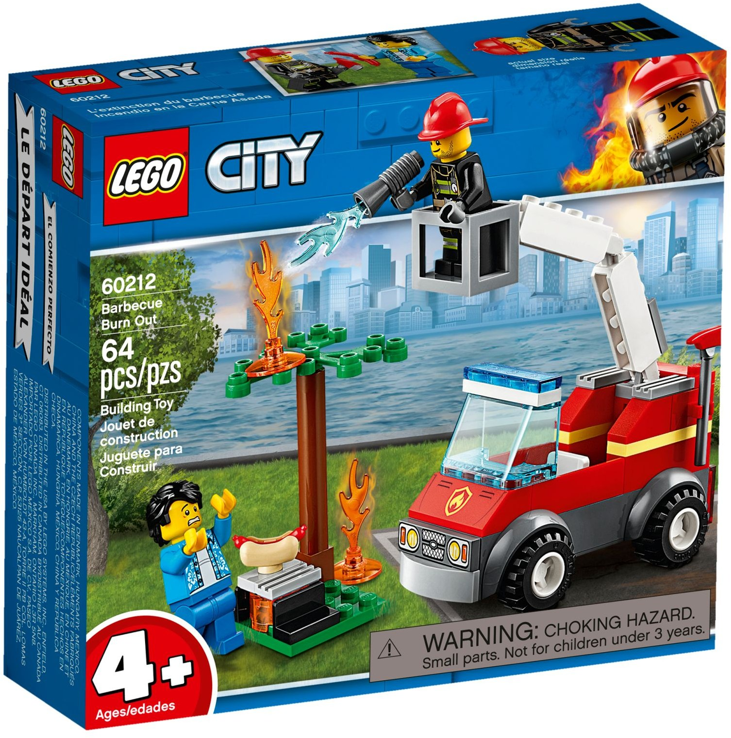 LEGO BARBECUE BURN OUT - 60212