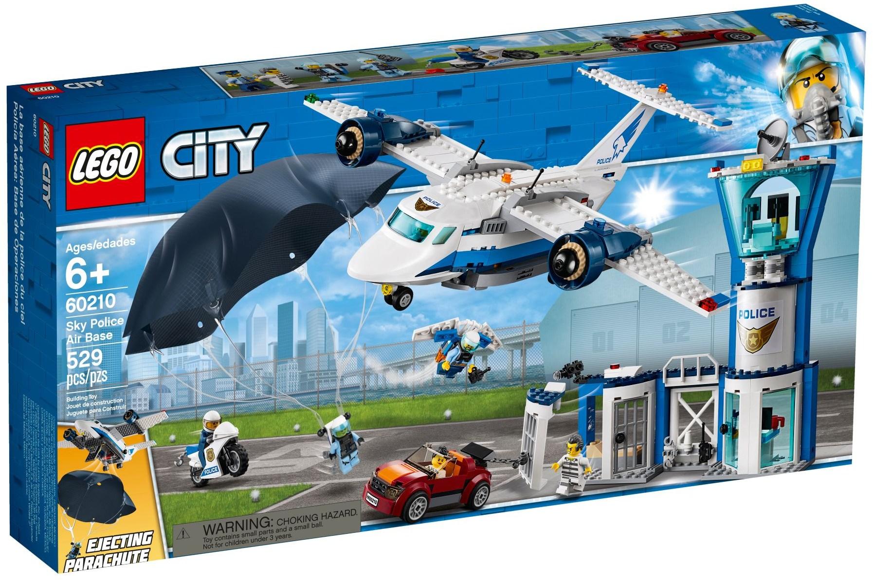 LEGO SKY POLICE AIR BASE - 60210