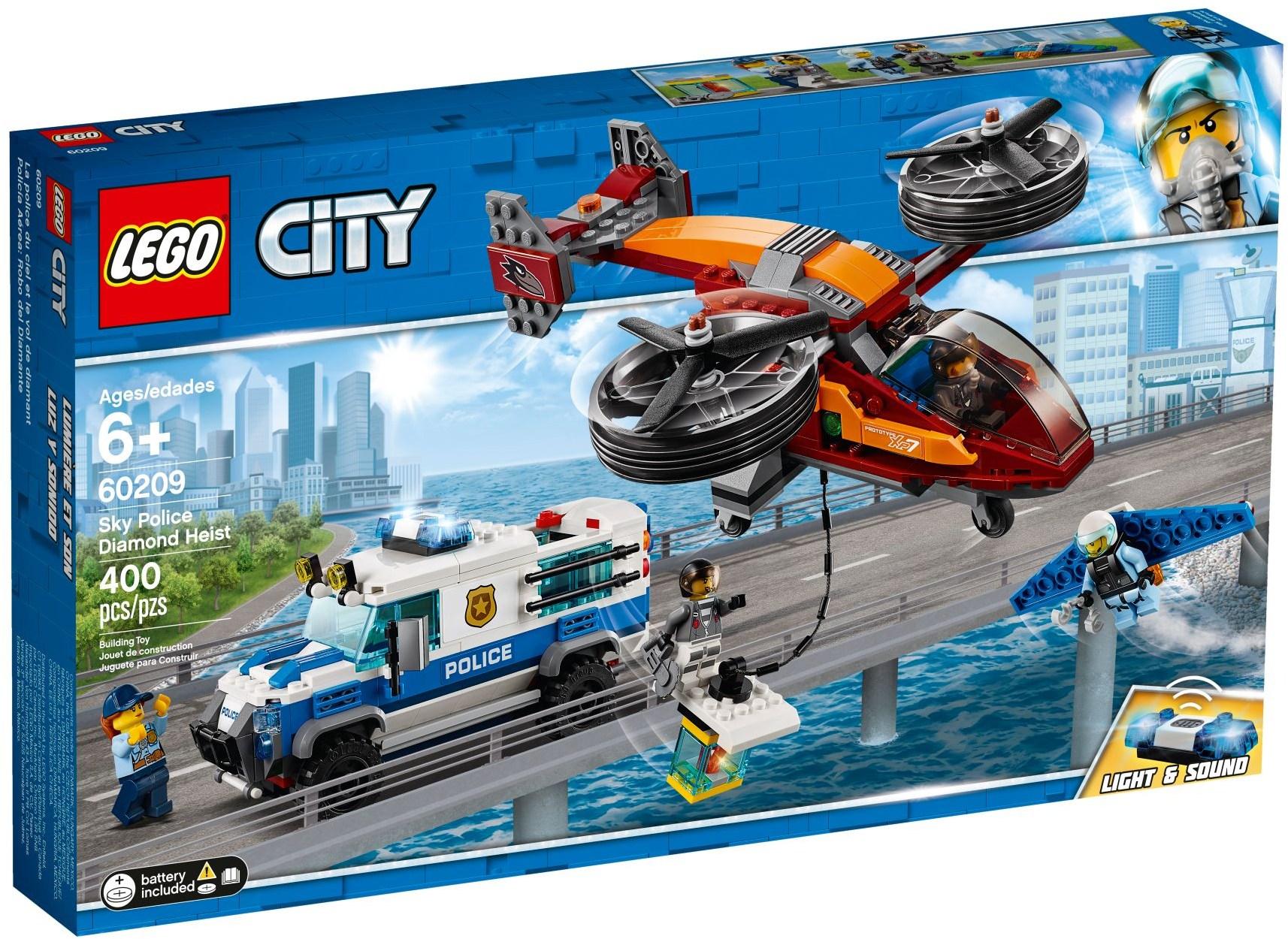 LEGO SKY POLICE DIAMOND HEIST - 60209