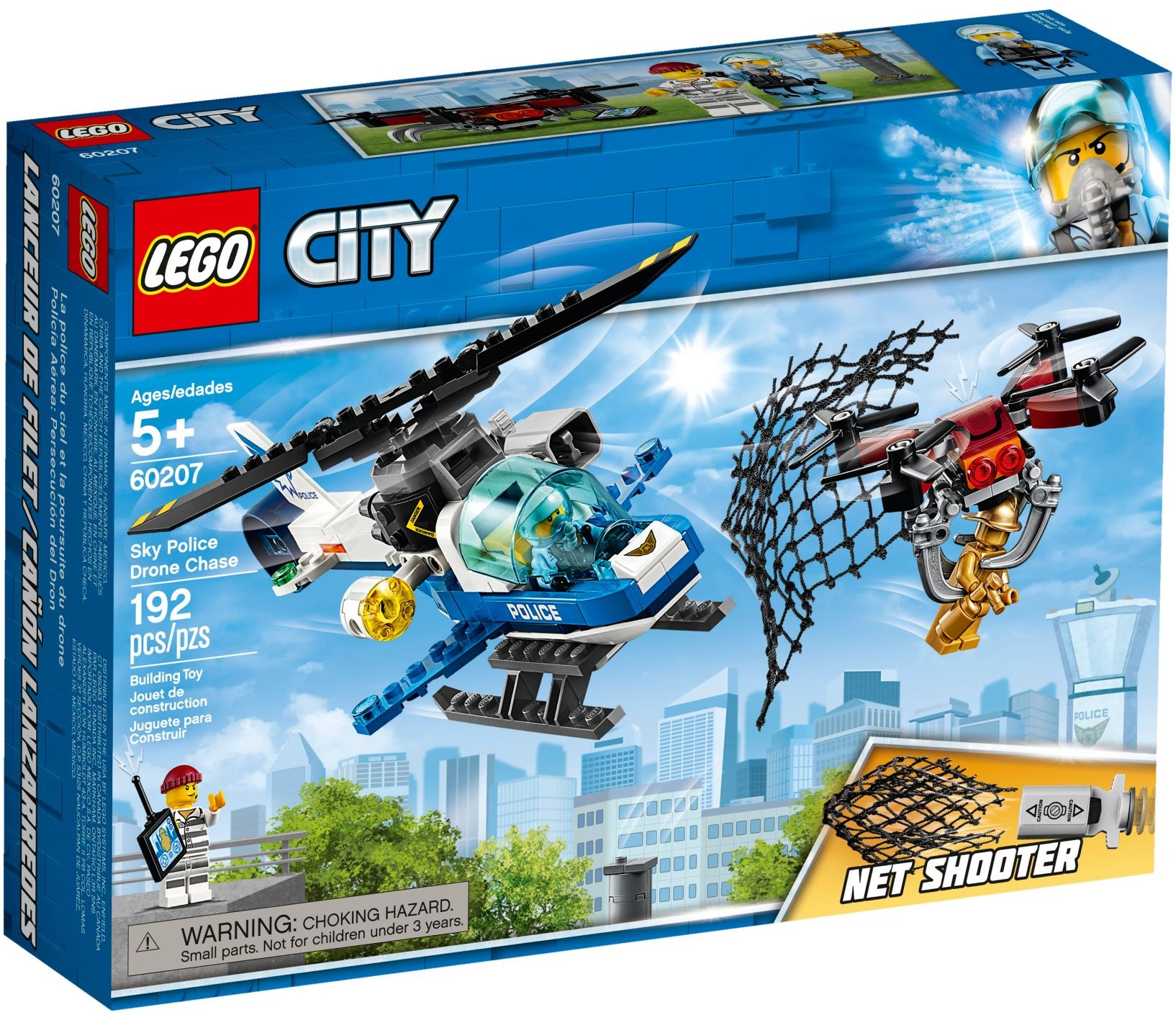 LEGO SKY POLICE DRONE CHASE - 60207