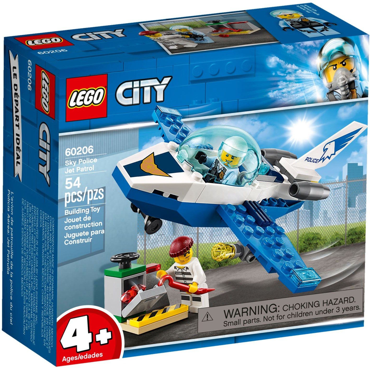 LEGO SKY POLICE JET PATROL - 60206