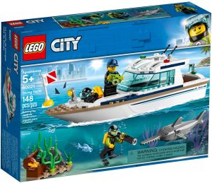 LEGO DIVING YACHT - 60221