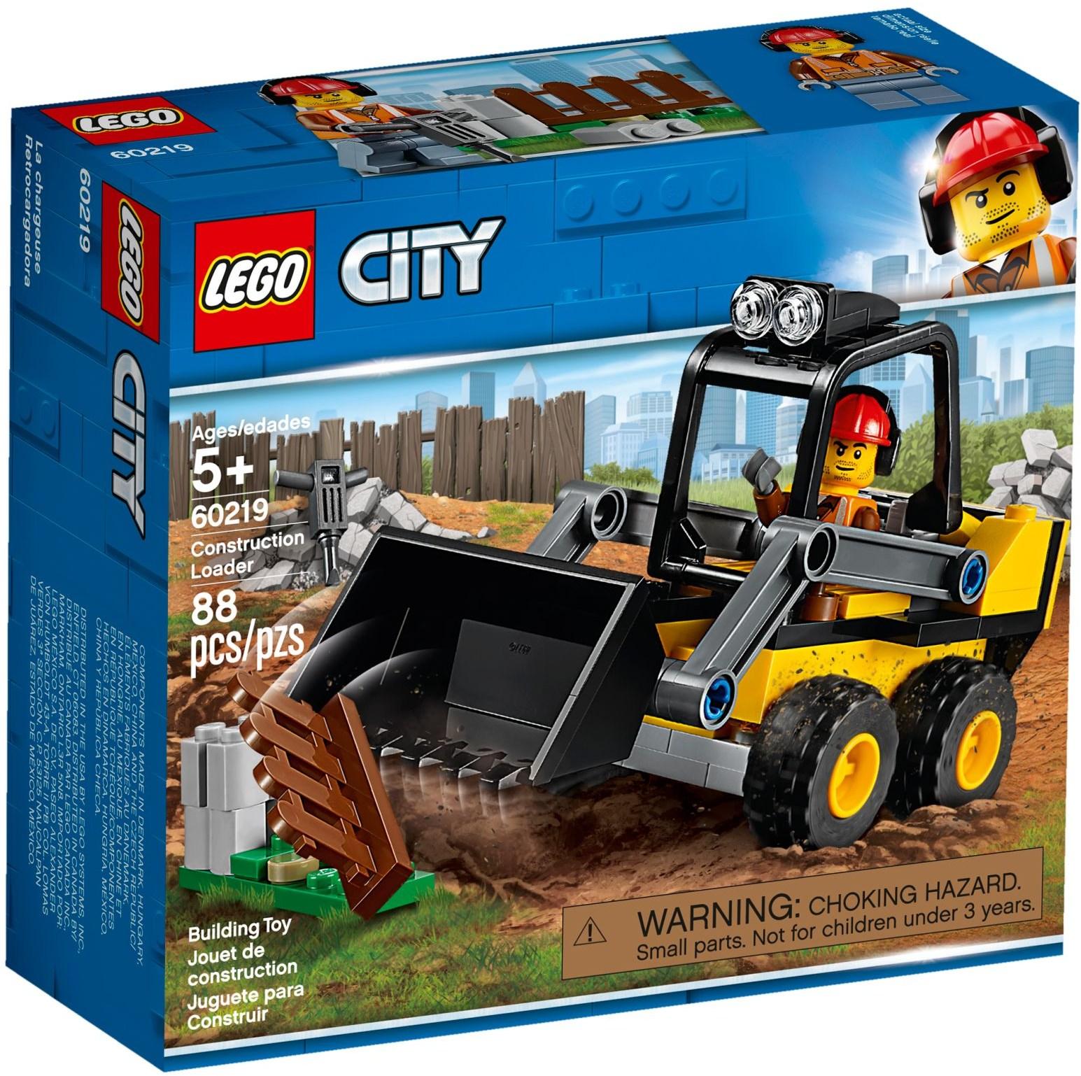 LEGO CONSTRUCTION LOADER - 60219