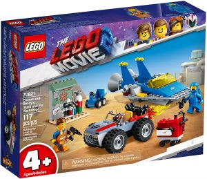 LEGO BUILD & FIX WORKSHOP - 70821