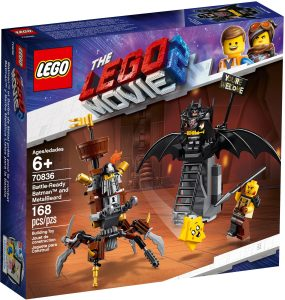 LEGO BATTLE READY BATMAN & METALBEARD - 70836