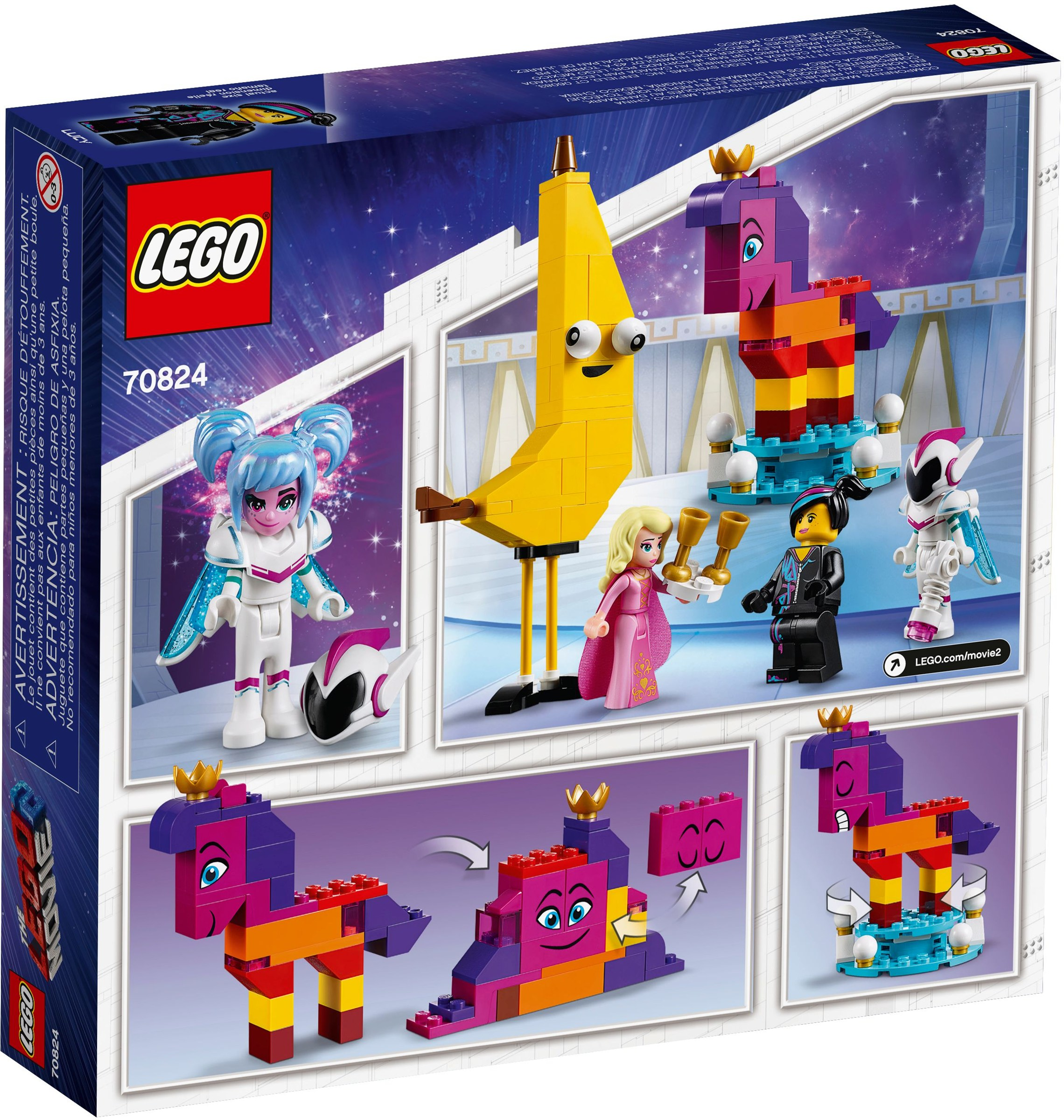 70824 Lego Introducing Queen Watevra Wa'nabi AL345jRq