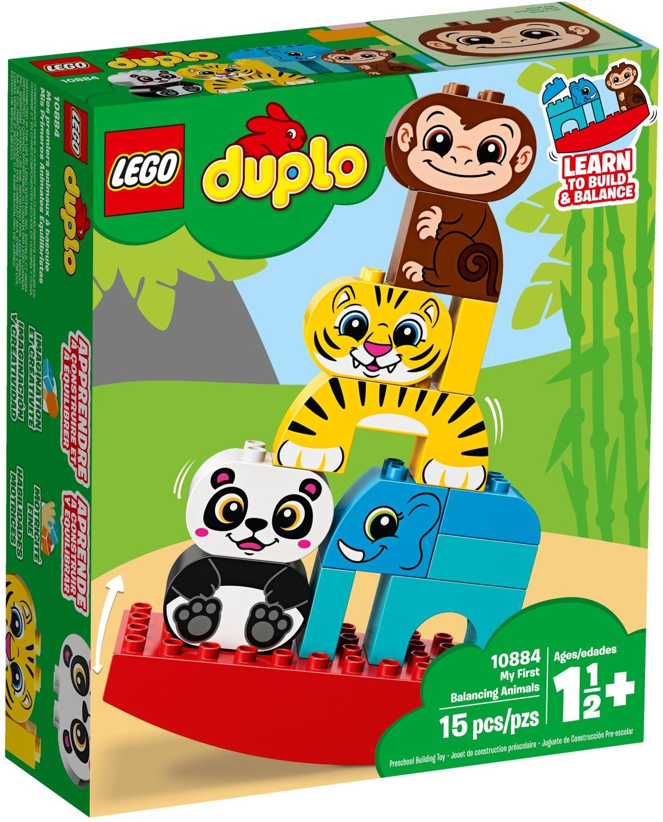 LEGO MY FIRST BALANCING ANIMALS - 10884