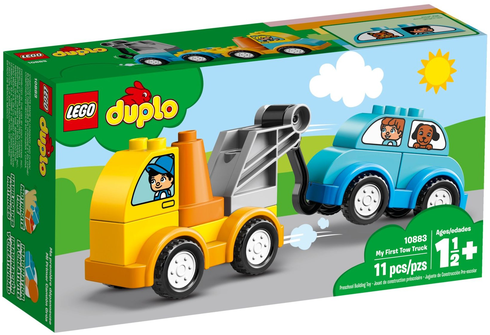 LEGO MY FIRST TOW TRUCK - 10883