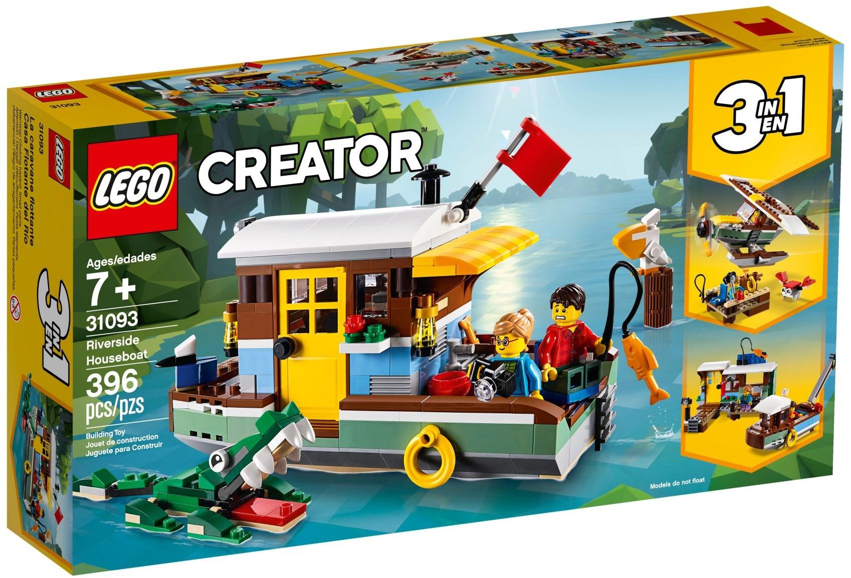 LEGO RIVERSIDE HOUSEBOAT - 31093