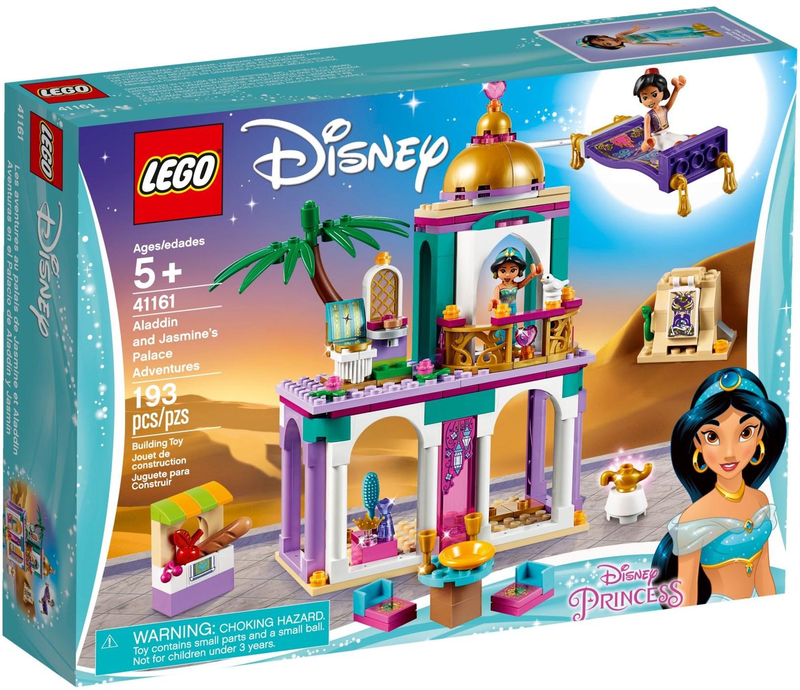 LEGO ALADDIN & JASMINES PALACE ADVENTURES - 41161