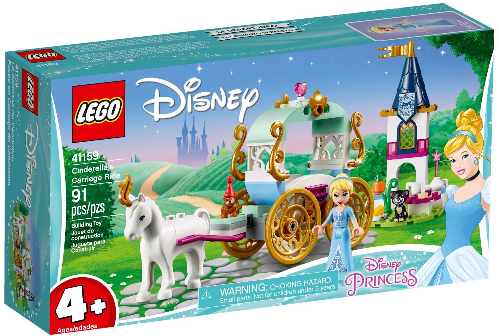 LEGO CINDERELLAS CARRIAGE RIDE - 41159