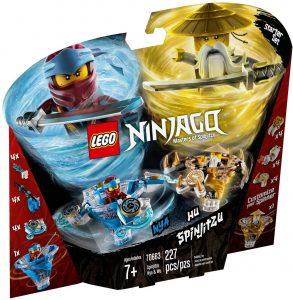 LEGO SPINJITZU NYA & WU - 70663