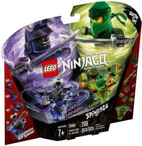 LEGO SPINJITZU LLOYD vs GARMADON - 70664