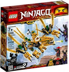 LEGO THE GOLDEN DRAGON - 70666