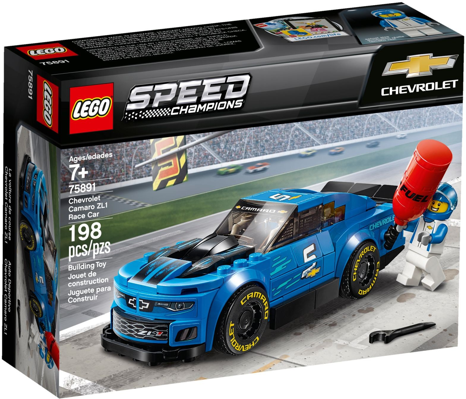 LEGO CHEVROLET CAMARO - 75891