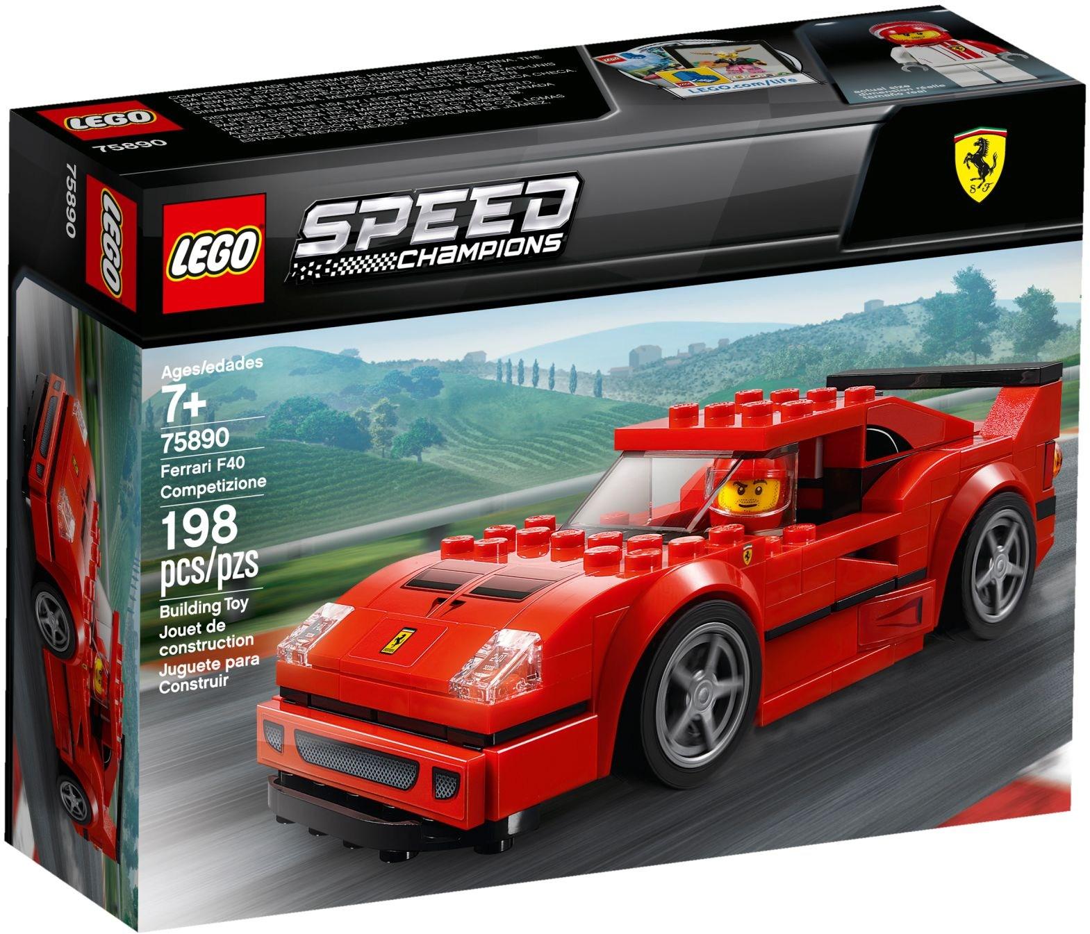 LEGO FERRARI F40 - 75890