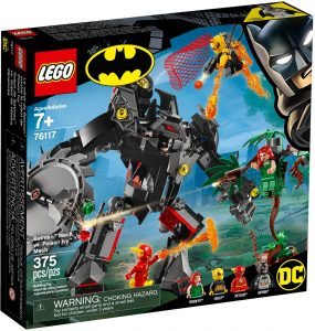 LEGO BATMAN MECH vs POISON IVY MECH - 76117