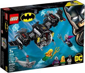 LEGO BAT SUB & THE UNDERWATER CLASH - 76116
