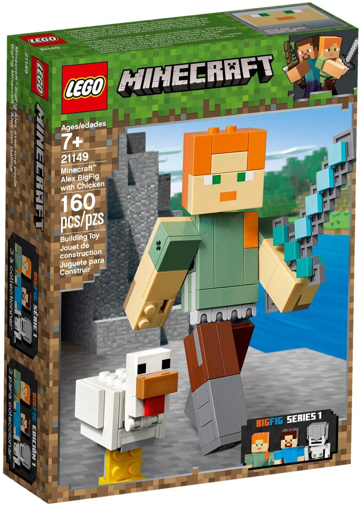 LEGO MINECRAFT ALEX BIGFIG - 21149