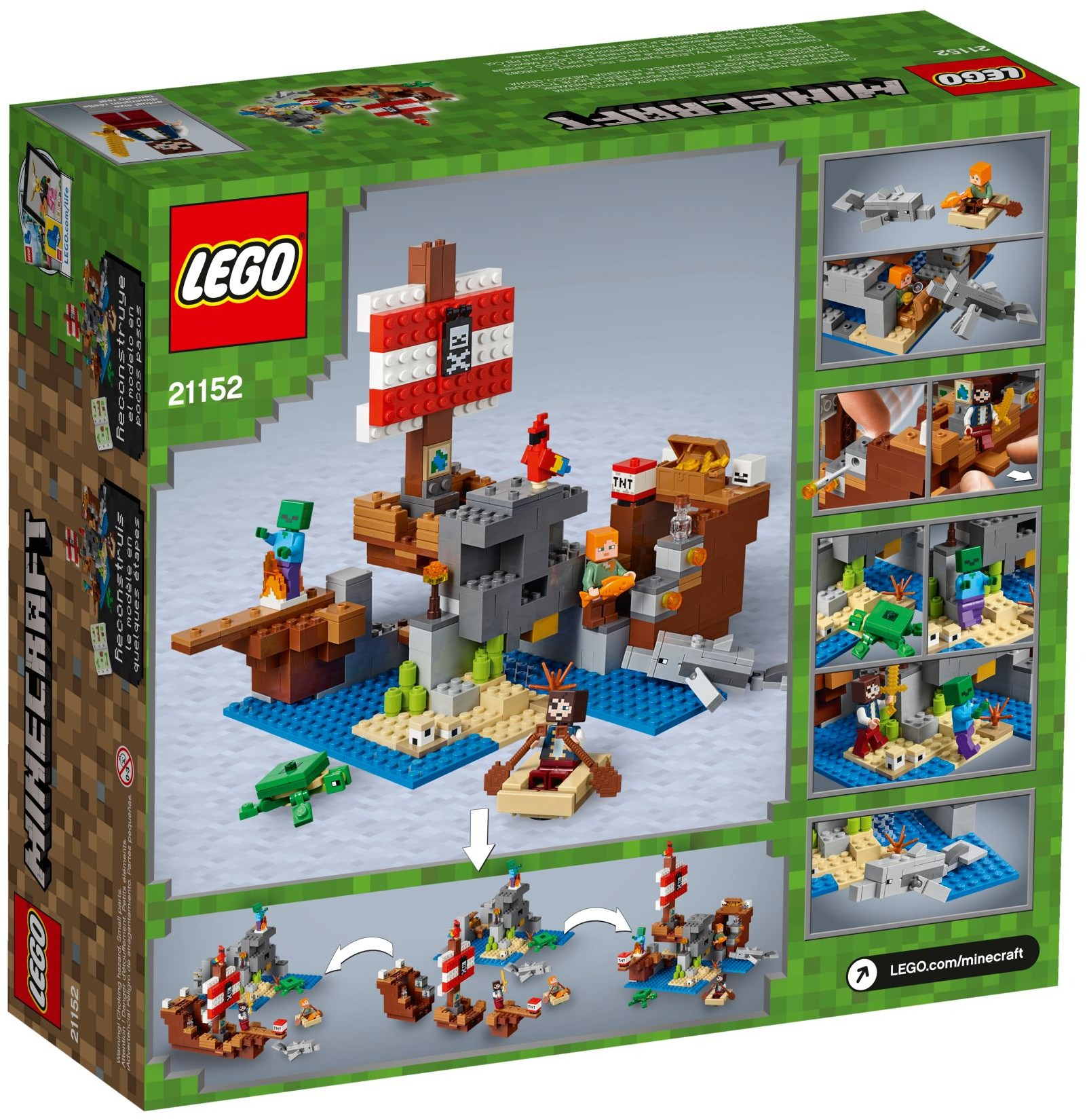 LEGO THE PIRATE SHIP ADVENTURE - 21152
