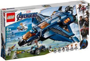 LEGO AVENGERS ULTIMATE QUINJET - 76126