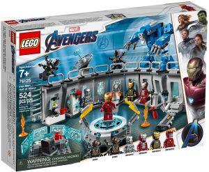 LEGO IRON MAN HALL OF ARMOUR - 76125