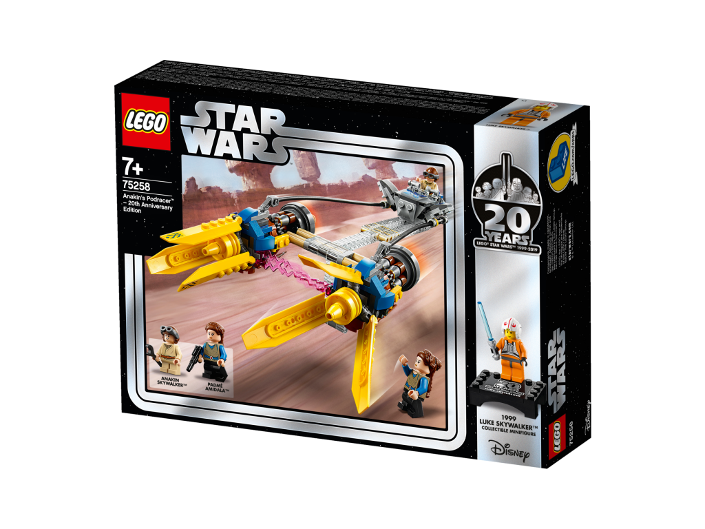 LEGO ANAKINS PODRACER - 20TH ANNIVERSARY EDITION - 75258 • Thomas Moore